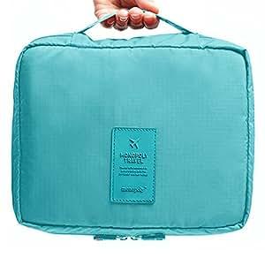 Okayji Polyester Travel Organizer Bag Case - Blue
