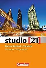 Studio [21] - Grundstufe: A1: Gesamtband - Glossar Deutsch-Türkisch