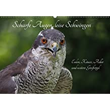 Scharfe Augen, leise Schwingen (Wandkalender 2018 DIN A2 quer): Eulen und Taggreifvögel (Monatskalender, 14 Seiten ) (CALVENDO Tiere) [Kalender] [Apr 01, 2017] Sperling, Werner