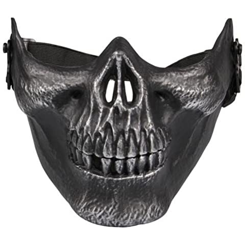 Airsoft calavera cara llena máscara de pantalla–Paintball, juego o escenario máscara, Type 2
