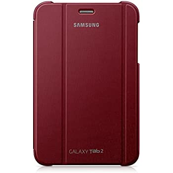 Samsung Notebook Cover for 7 inch Galaxy Tab 2 - Garnet Red