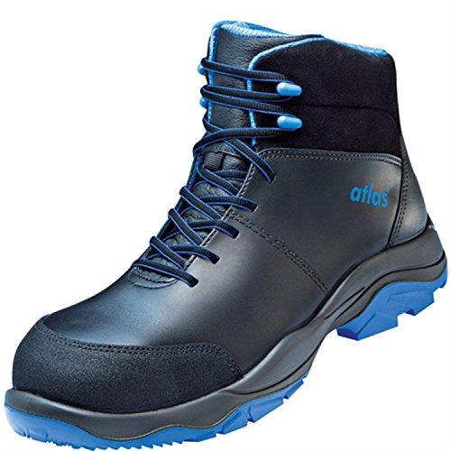 ESD di sicurezza scarpa SL 845XP Blue in weite 10secondo la norma EN ISO 20345S3SRC di Atlas nero