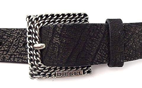 Diesel - Ceinture - Femme noir noir - noir - 65 cm
