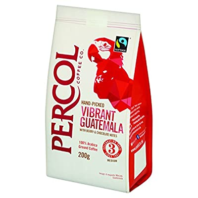 Percol FT Vibrant Guatemala Ground Coffee 200 g (Pack of 2 bags)