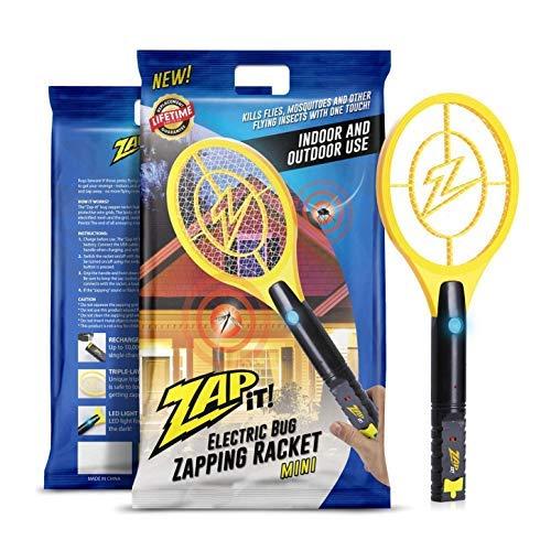 ZAP IT! Mini Bug Zapper - Rechargeable Mosquito,...