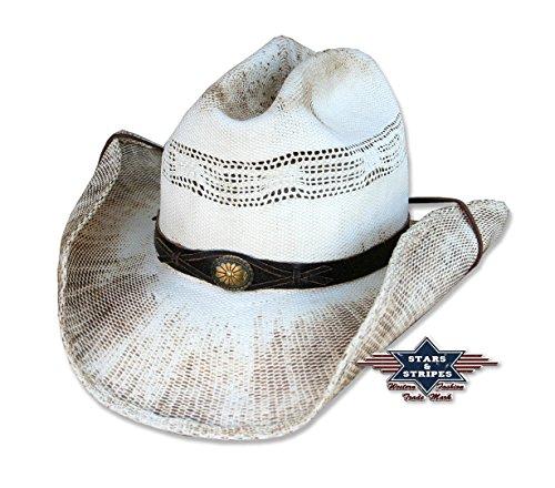 Cowboyhut Snake Used-Look von Stars&Stripes Country Western Hut , Größe:XL