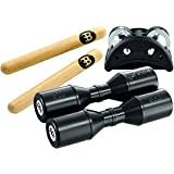 Meinl Percussion PP-1 Set de percussions (Tambourin, Shakers, Claves)