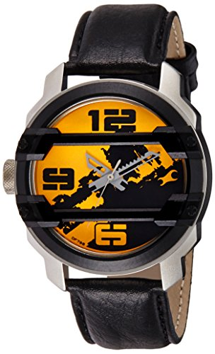 519py6JYTlL - 3153KL02 Fastrack Yellow Mens watch