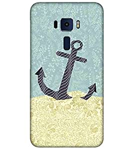 For Asus Zenfone 3 ZE520KL (5.2 Inches) beautiful icon ( beautiful icon, icon, nice icon, black icon, flower ) Printed Designer Back Case Cover By FashionCops