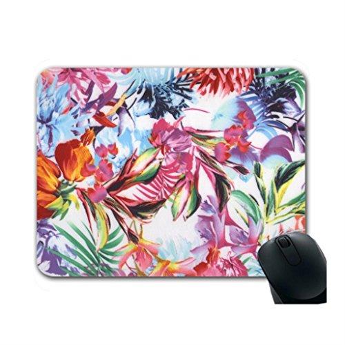 Helen Chen Pink kaufen Gaming Maus Pad Blumen modernes Maus Pad Mitte Größe (Handgelenk-rest-maus-pad, Orange)