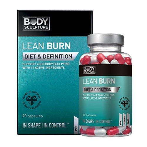 Lean Burn Fettverbrennung Body Sculpture 90 Kapseln 12 Wirkstoffe Vitamine Koffein Pflanzenextrakte Fettverbrenner