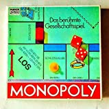 *Klasssich* Das berühmte Gesellschaftsspiel MONOPOLY - eine Originalausgabe aus den 90er Jahren! (von PARKER, mit DM-Preisen)