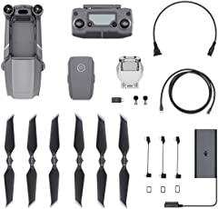 "DJI Mavic 2 Pro Drohne Quadrocopter mit Hasselblad Kamera HDR Video Variable Blendenöffnung 20MP 1"" CMOS Sensor (EU Version)"
