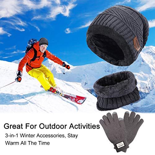 Zoom IMG-1 tedgem cappello uomo invernali in