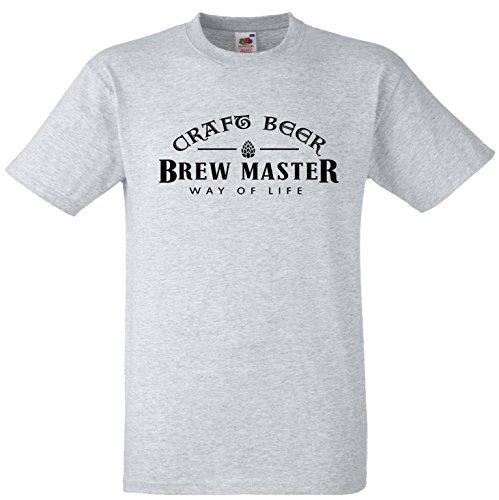 craft-birra-brew-master-modo-di-vita-qualita-magliette-heather-grey-m