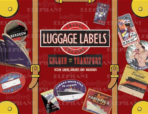 Golden Age of Transport (Luggage Labels) por Not Available