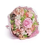 Bouquet-Garden- Sanremo getrocknete Blumen von der italienischen Riviera dei Fiori mit stabilisierter Rose (Rosa)