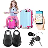 #9: DMG Bluetooth 4.0 Phone Tracker Alarm iTag Mini Wireless Key Finder for Anti-lost, Selfie Shutter, Compatible with IOS and Android Smartphones for Locating Pets, Children, Keys, Wallets, Cars (Multicolour)