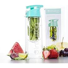Botella Infruition Deporte fruta infusión de agua - 700 ml - Menta Azul