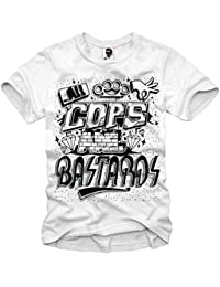 E1SYNDICATE T-SHIRT ACAB A.C.A.B LONDON SUPREME BOY LAST KINGS HATER DOPE S- XL ce0ccf99329