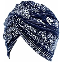 ASHOP Sombrero de Mujer, La mujer cancer chemo sombrero beanie bufanda floral Wrap Cap cabeza