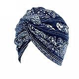 ASHOP Sombrero de Mujer, La mujer cancer chemo sombrero beanie bufanda floral Wrap Cap cabeza de...