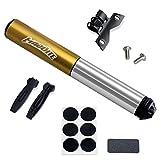 Die beste Mini-Bike-Pumpe auf Amazon--MadBite® Mini Fahrrad-Luftpumpe 120PSI Teleskopische, kompakt...