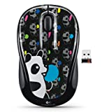 Logitech Wireless Mouse M235 Panda Candy...