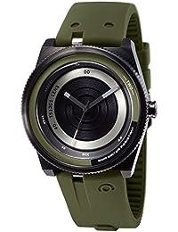 TACS Color Lens Analog Black Dial Unisex Lens Concept Watch -TS1201B