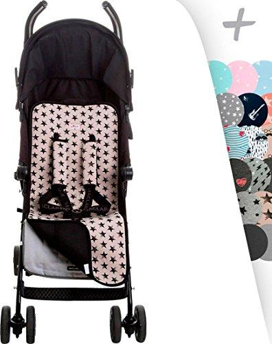 Universale Cushion cuscino di sede per passeggino +Protezioni comfort per cintura di sicurezza Janabebe