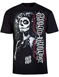 Blood In Blood Out Hombres Ropa superior / Camiseta La Catrina Blanca