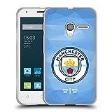 Head Case Designs Personalisierte Individuelle Manchester City Man City FC Geometrische Kennzeichen 2017/18 Soft Gel Hü