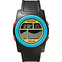 Nixon Herren-Armbanduhr Rhythm Digital Quarz Plastik A3851935-00