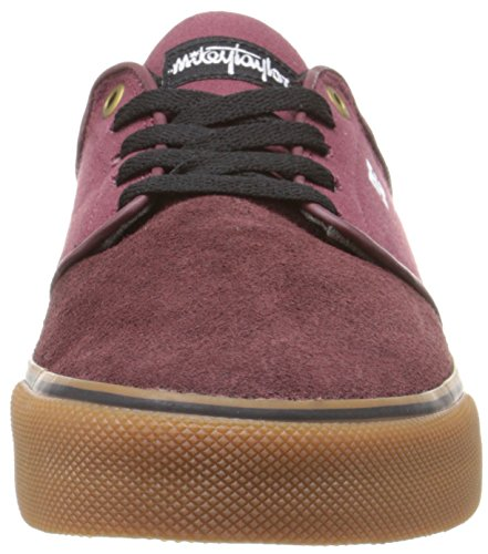 DC Mikey Taylor Vulc Low Top Chaussures pour hommes Burgundy