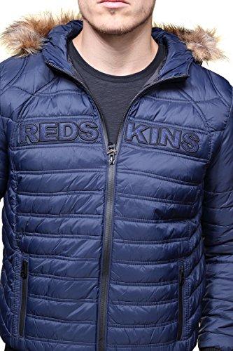 Redskins Herren Jacke Drick Helium Blau