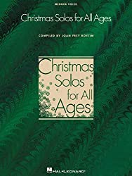Christmas Solos for All Ages Medium Voice by Joan Frey Boytim (2001-09-01)