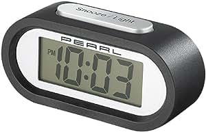 "PEARL Jumbo-LCD-Funkwecker mit individuellem Weckton ""DAC-438 voice"""