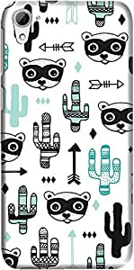 desire 826 back case cover ,Arrows and Racoons Designer desire 826 hard back case cover. Slim light weight polycarbonate case