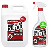 CritterKill 5+1L FREE Professional Bed Bug Killer Spray | Guaranteed Results | Used
