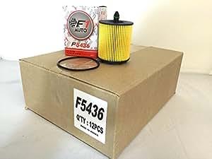 F1AUTO 12 Piece F5436 ENGINE OIL FILTER CARTRIDGE FRAM CH9018