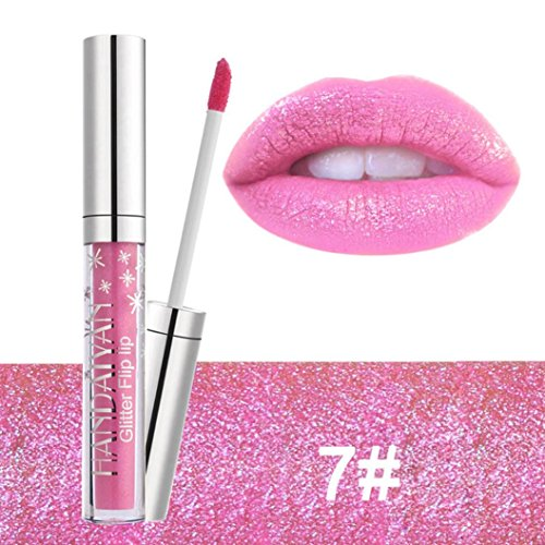 gaddrt Wasserdichte langlebige flüssige Samt Matte Lippenstift Makeup Lip Gloss Lip (G)