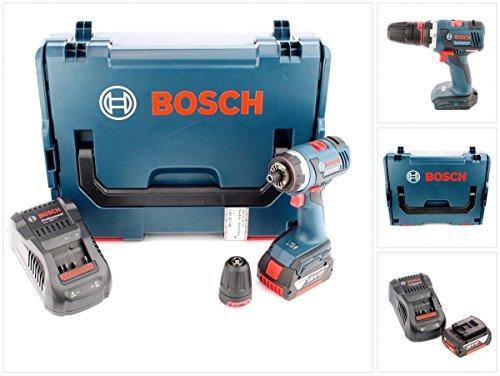 Preisvergleich Produktbild Bosch GSR 18 V-EC FC2 Akku Bohrschrauber in L-Boxx mit GAL 1880 Ladegerät und 1x GBA 6 Ah Akku und Bohrfutter GFA FC2
