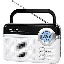 RADIO LAUSON RD-121 DIGITAL BLANCO RED/PILAS