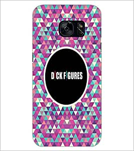 PrintDhaba Quote D-4041 Back Case Cover for SAMSUNG GALAXY S7 (Multi-Coloured)
