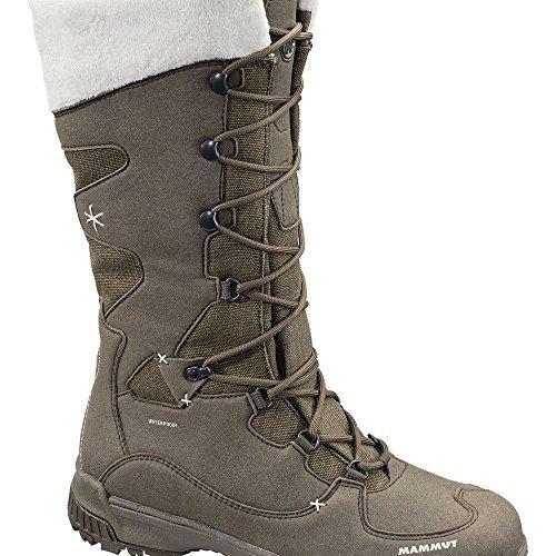 Mammut Silverheel High WP Women (Backpacking/Hiking Footwear (High)) flint-white