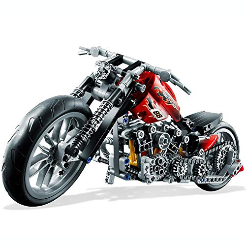 yitao Lego Technic Motorrad Exploiture Modell Harley Fahrzeug Gebäude Ziegel Block Set Spielzeug Geschenk Kompatibel Mit Legoe