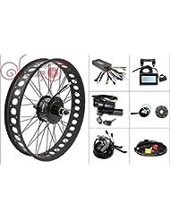 Hot Sale! Threaded Rear Wheel Ebike Conversion Kit ,48V 750W 175mm 8Fun Bafang Fat Tire