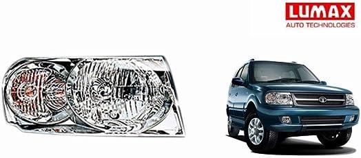 Lumax Car Crystal Headlight Assembly RIGHT - Tata Safari 2013