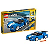 #3: Lego Turbo Track Racer, Light Blue