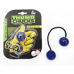 Ouneed ® Paquete de control Roll nudillos juego de pelota de dedo de juguete anti-estrés (C)
